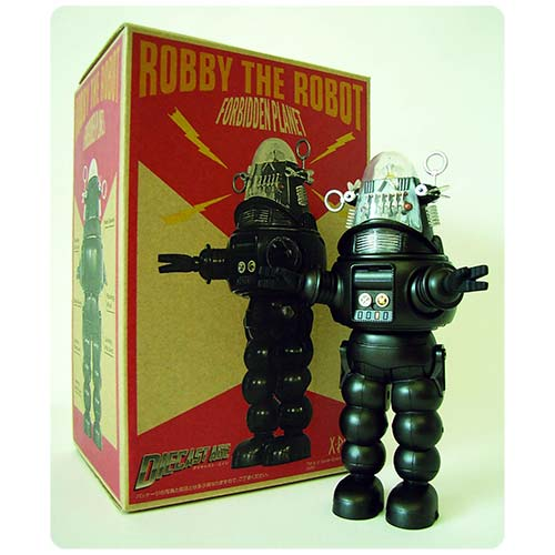 Robby the Robot Black and White Version Die-Cast Figure