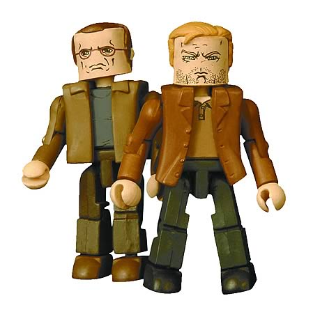 24 End Of Day Jack Bauer & Andre Drazen Minimates Figures