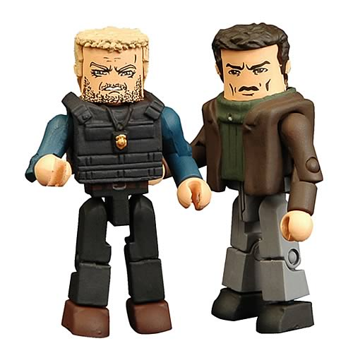 24 End of Day 3 Jack and Stephen Saunders Minimates 2-Pack