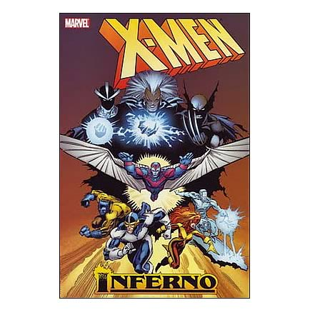 X-Men Inferno Hardcover Graphic Novel