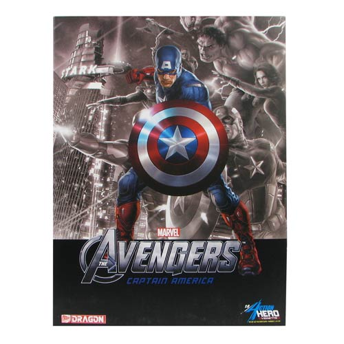 Avengers Captain America Previews Exclusive AHV Model Kit