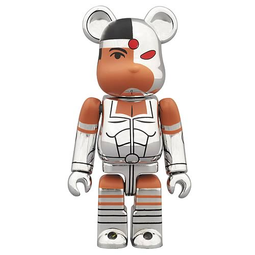 Teen Titans Cyborg DC Comics Bearbrick Mini-Figure