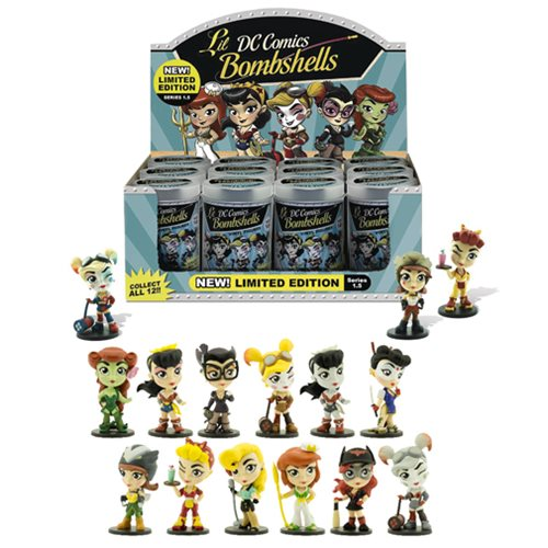DC Bombshells Series 1.5 Mini-Figure Display Case