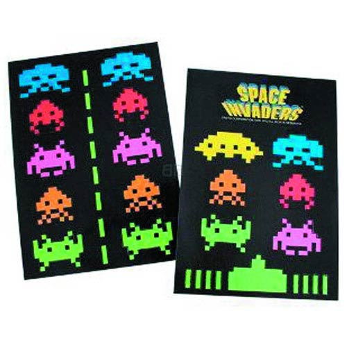 Space Invaders Magnet Set 2-Pack