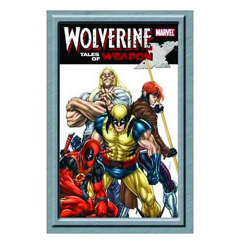 Wolverine Tales of Weapon X Hardcover Graphic Novel