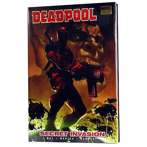Deadpool Secret Invasion Volume 1 Hardcover Graphic Novel