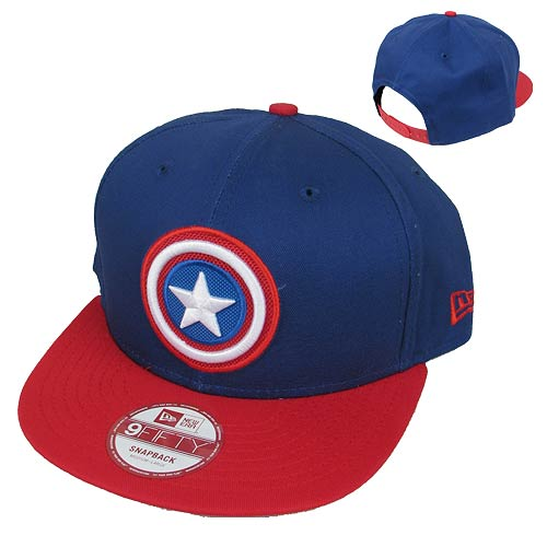 Captain America The Winter Soldier Emblem Snap Back Hat