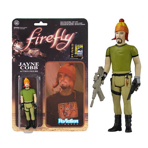 Firefly Jayne Cobb & Hat ReAction Retro Figure Previews Exc.