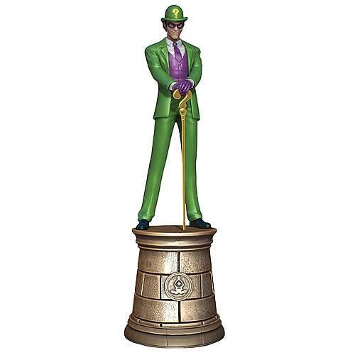 DC Superhero Riddler Bishop Chess Piece with Magazine