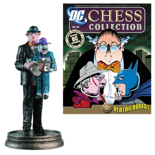DC Superhero Ventriloquist Pawn Chess Piece with Magazine