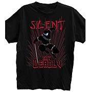 G.I. Joe Snake Eyes Silent But Deadly Black T-Shirt