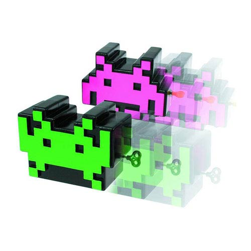 Space Invaders Wind-Up Toy 2-Pack