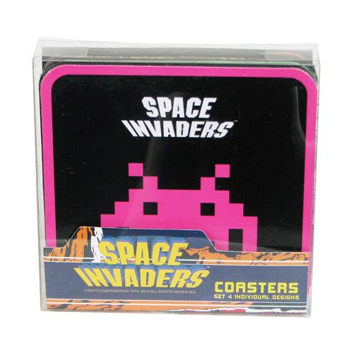 Space Invaders Coaster 4-Pack
