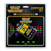 Space Invaders USB Optical Mouse and Mouse Pad