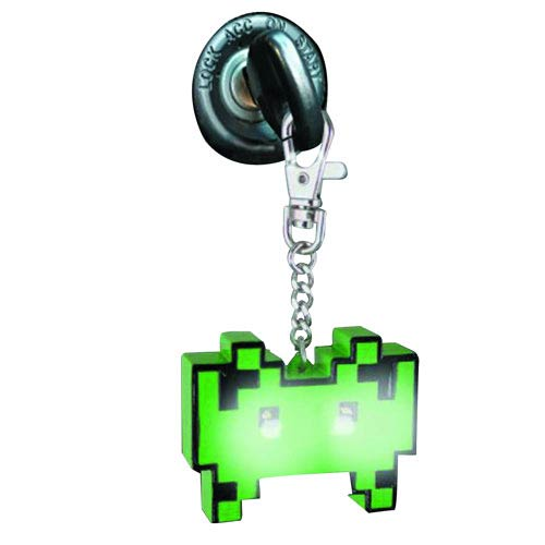 Space Invaders Light-Up Key Chain