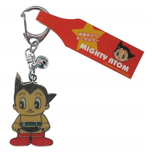 Astro Boy Standing Atom Stamped Key Chain