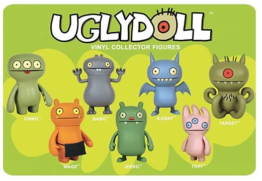 Uglydoll Vinyl Collector Figure Case