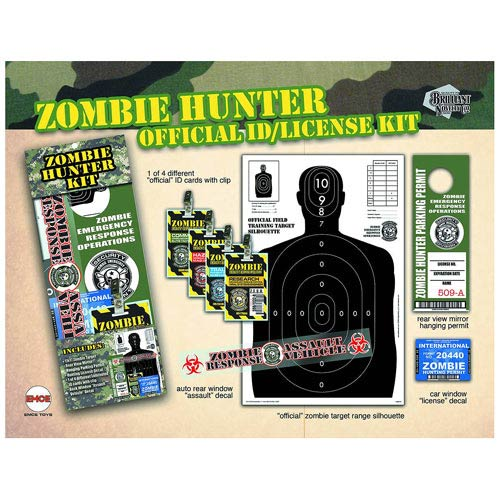 Zombie Hunter Previews Exclusive Novelty Set