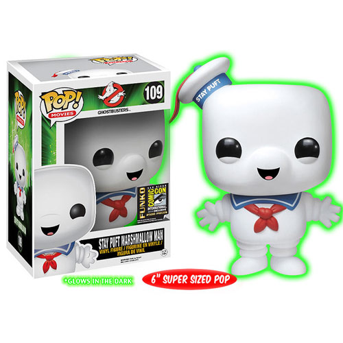 Ghostbusters Stay Puft GITD Version Pop! Vinyl Exclusive