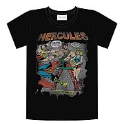Marvel Hercules Step Aside Black T-Shirt
