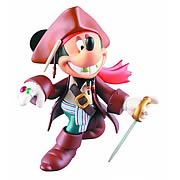 Disney Series 3 Mickey Mouse Jack Sparrow Action Figure