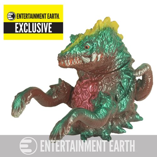 Godzilla Vinyl Wars Biollante Sofubi Vinyl Figure - Entertainment Earth Exclusive