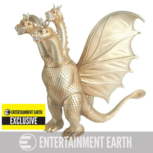 King Ghidorah Roars to Life as Newest Godzilla Exclusive Vinyl Figure