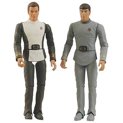 Star Trek: The Motion Picture Kirk and Spock Action Figures