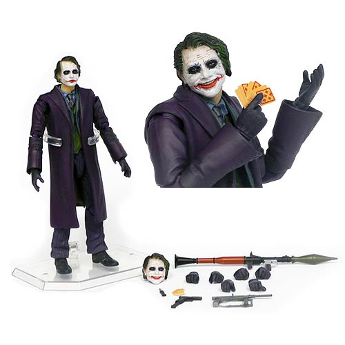 Batman Dark Knight Joker Miracle Figure - Previews Exc.