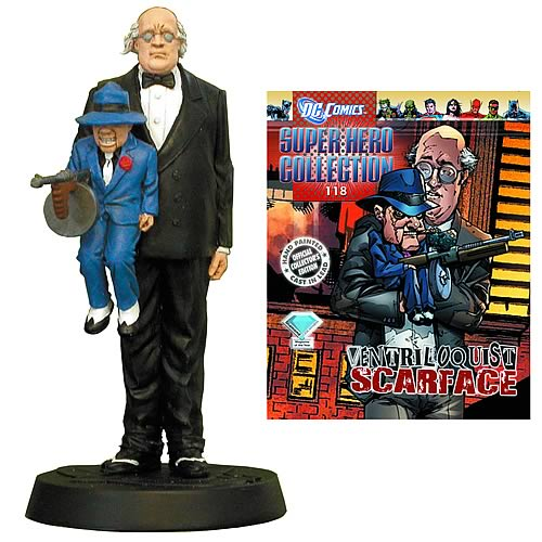 DC Superhero Ventriloquist Collector Magazine with Figure