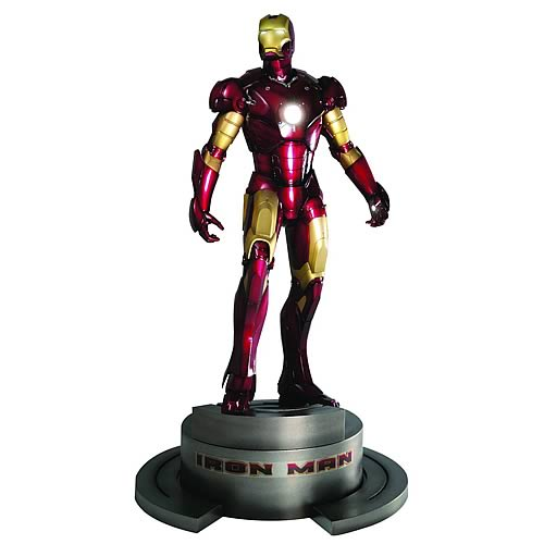 Iron Man Movie Fine Art Statue