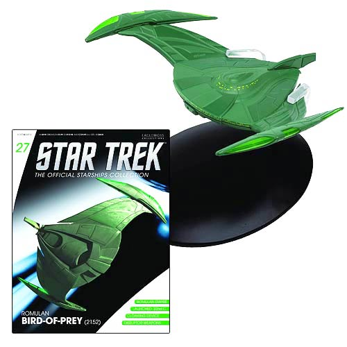 Star Trek Starships Romulan Bird Prey Vehicle with Magazine