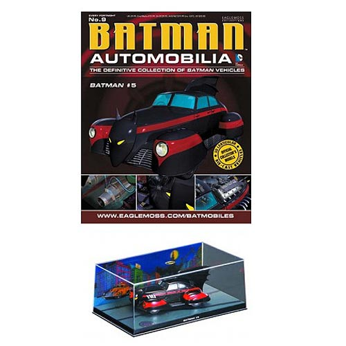 Batman #5 Batmobile with Collector Magazine