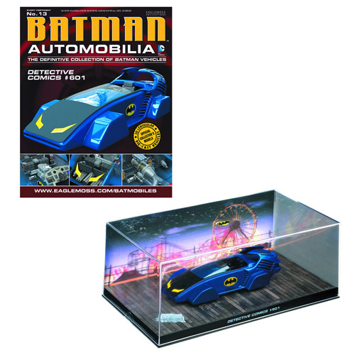 Batman Detective Comics #601 Batmobile & Collector Magazine
