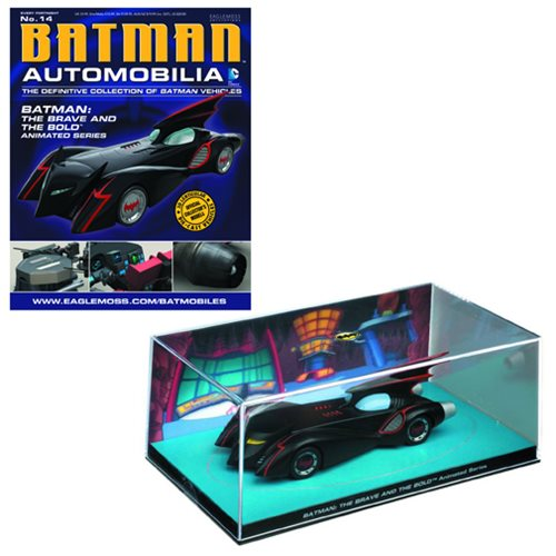 Batman Brave and Bold Batmobile with Collector Magazine