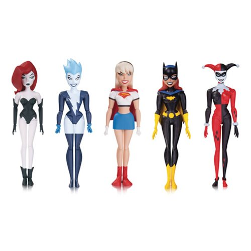 New Batman Adventures Girls Night Out Action Figure 5-pack