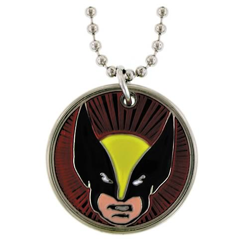 Wolverine Mask Necklace
