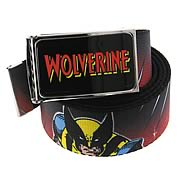 Wolverine Character and Logo Black Belt