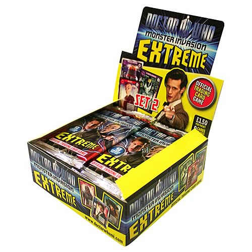 Doctor Who Monster Invasion Extreme TCG Booster 6-Pack