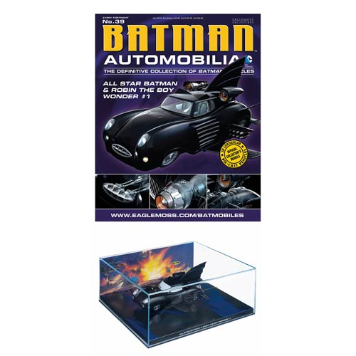 Batman All-Star Batman & Robin Boy Wonder Batmobile & Mag.