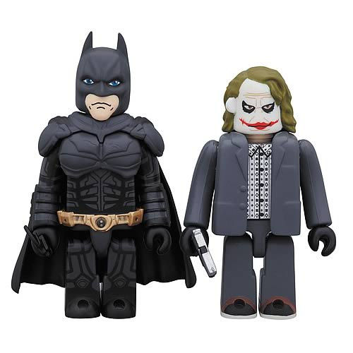 Batman Dark Knight Batman and Joker Kubrick 2-Pack