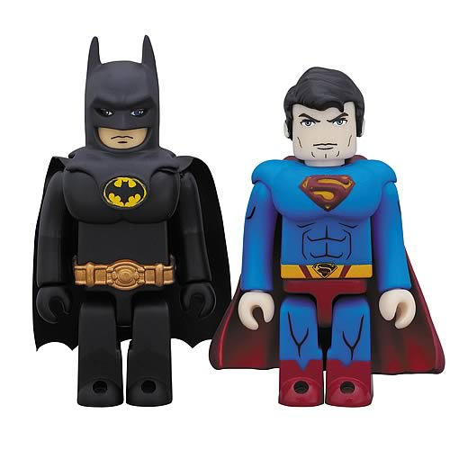 DC Heroes Batman and Superman Kubrick 2-Pack