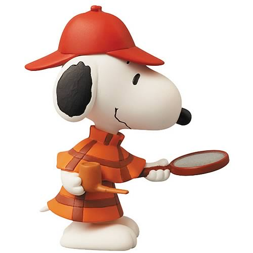 Peanuts Snoopy Detective Version Ultra-Detail Figure