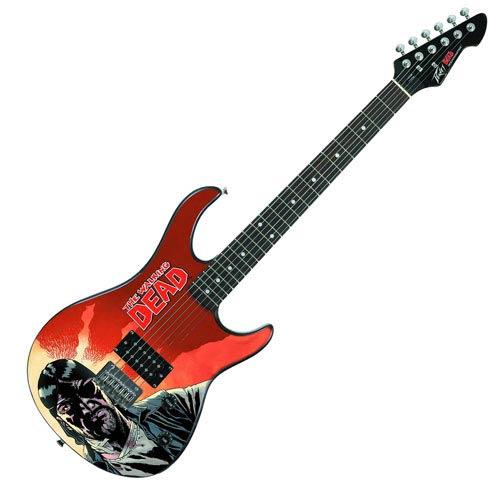 Walking Dead Governor Previews Exclusive Rockmaster Guitar