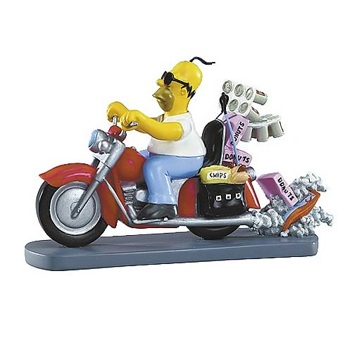 Simpsons Rebel Without a Donut Statue