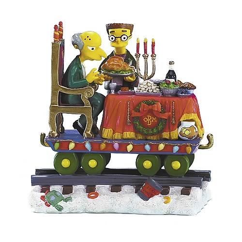 Simpsons Christmas Express 4: Feast for One Statue