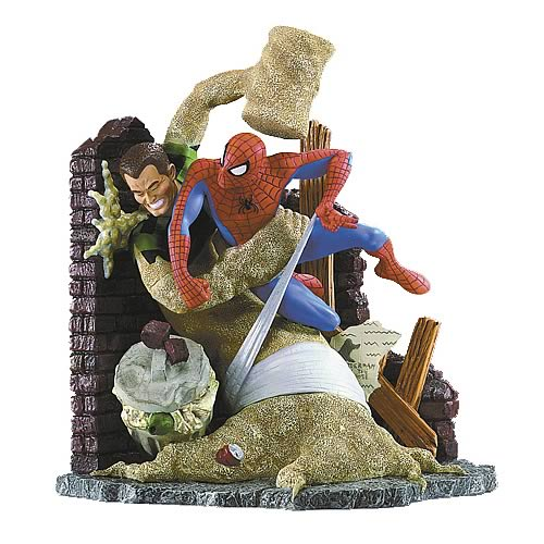Spider-Man vs. The Sandman Statue