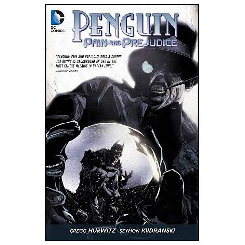 Batman Penguin Pain and Prejudice Graphic Novel