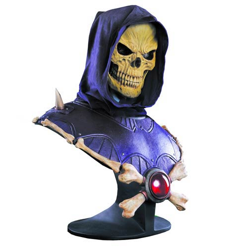Masters of the Universe Skeletor 1:1 Scale Bust