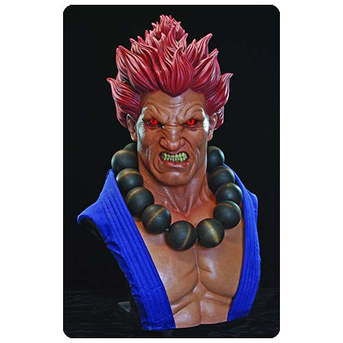 Street Fighter Akuma Light-Up Eyes 1:1 Scale Bust